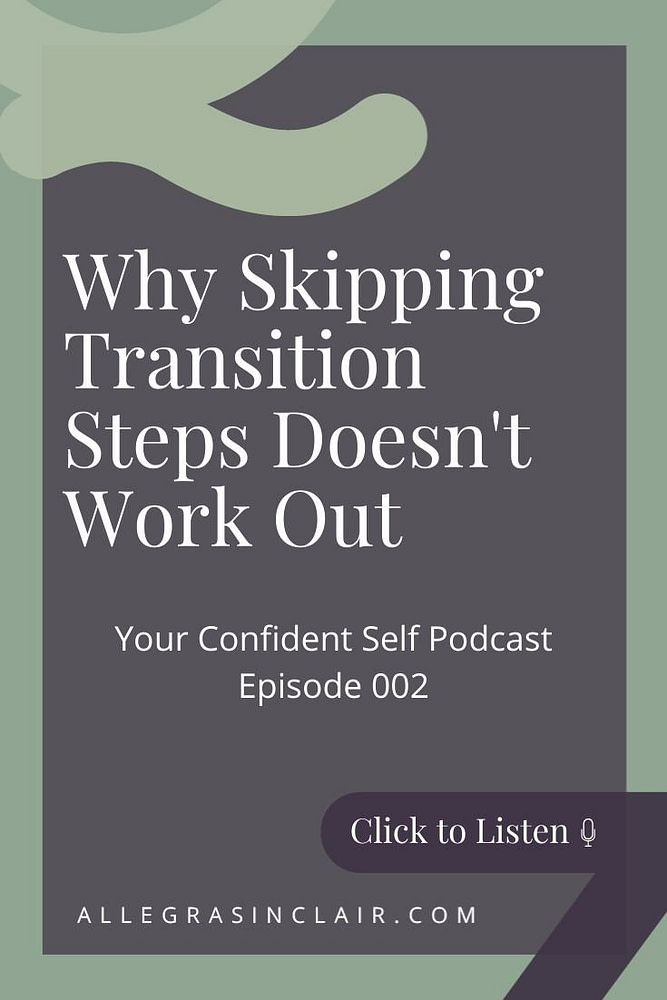 Why Skipping Transition Steps Tastes Nasty