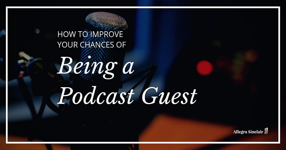 being a podcast guest