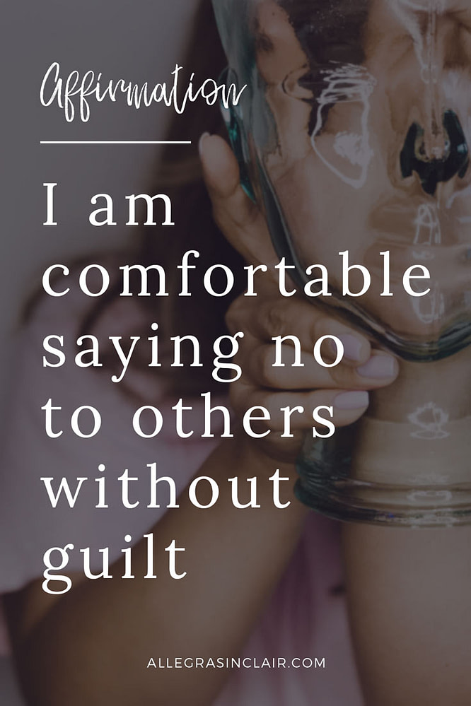 I am comfortable saying no to others without guilt