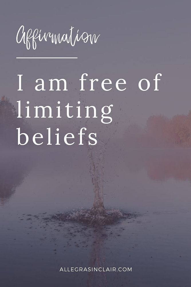 I am free of limiting beliefs