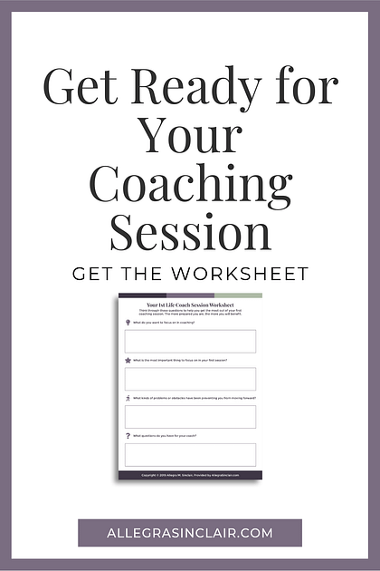 How to get ready for your first coaching session