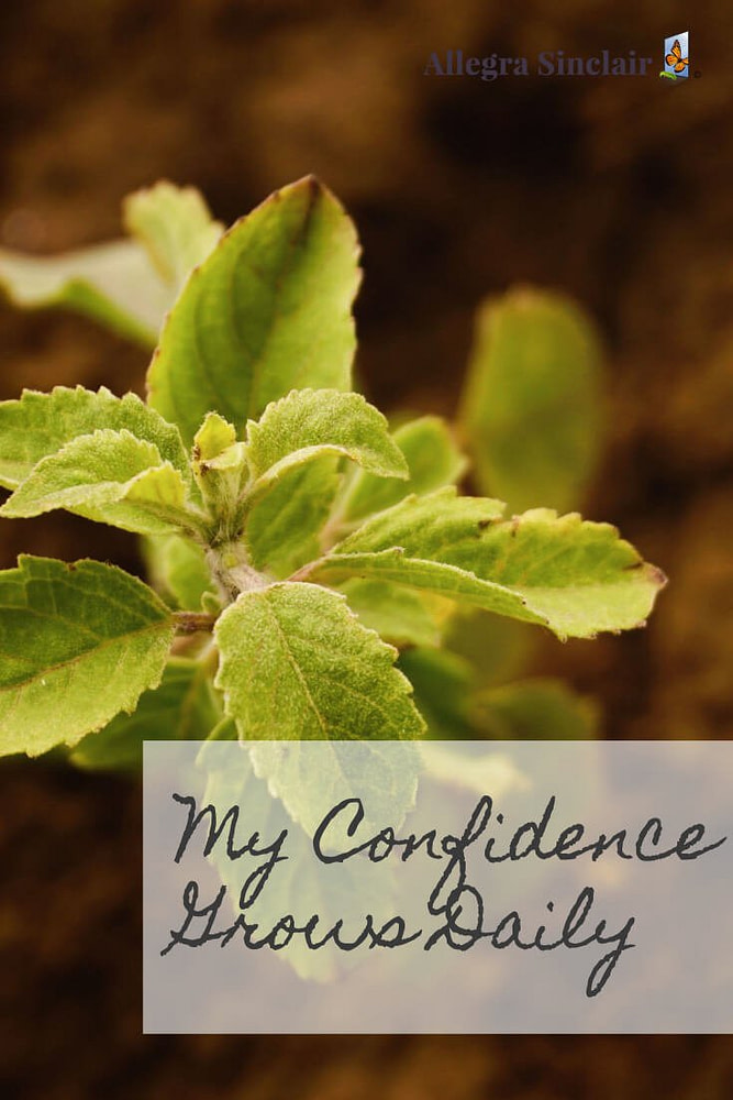 My confidence is growing daily.