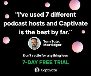 Growth-oriented podcast host